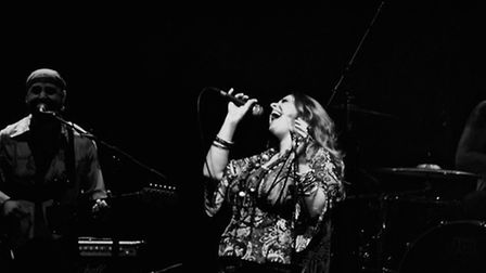 Angie Darcy has been praised for capturing Janis Joplin's raw energy and spirit on stage