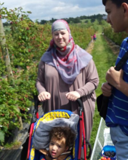 Tanya Monkman before a rare migraine left her needing the use of a wheelchair. Photo: Tanya Monkman