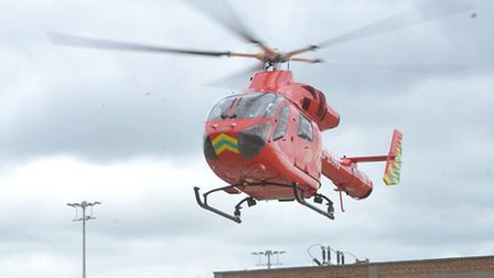 London's new air ambulance became operational today