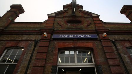 Emergency crews were called to East Ham station