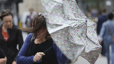 London will not quite escape Storm Imogen (Picture: PA Images)