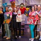 The cast of hit musical Avenue Q, which is coming to Queen's Theatre, Billet Lane, Hornchurch, next