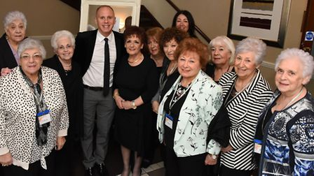 Celebrity judge Rob Rinder is guest speaking at an MS charity lunch at the Prince Regent Hotel in Wo