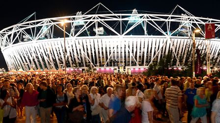 The Olympic Stadium is set to become home to West Ham next season (picture: PA)