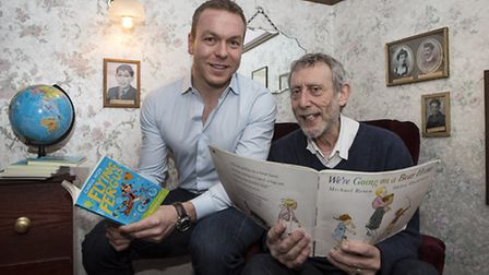 Sir Chris Hoy and Michael Rosen took part in World Book Day events in Newham