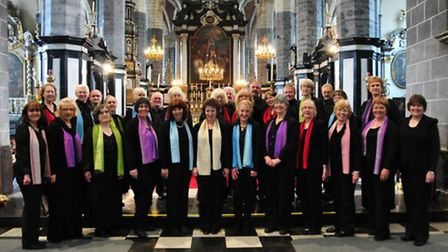 Members of the Valentine Singers. Photo: Kathleen Beaumont