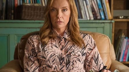 Toni Collette stars in Wanderlust as a sexually frustrated therapist. Photo: BBC.