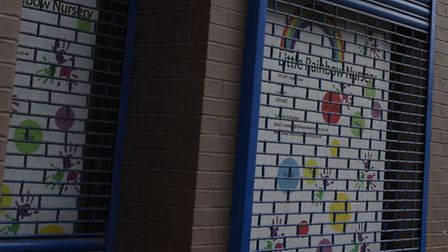 The Little Rainbow Nursery in Stratford High Street hopes to improve its FSA rating