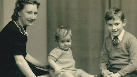 Daisy Logan, in her late twenties with her children, Keith and Warren. Photo: Sophie Middleton/Sanct
