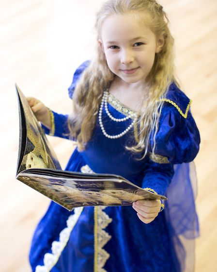 Scarlett Sheen, from Forest School, Snaresbrook, dresses up as a princess for the day. Photo: Isabel