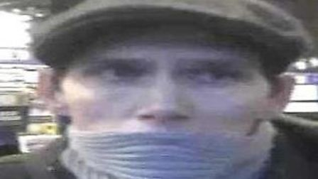 Police released this image in the hope that a member of the public would recognise him