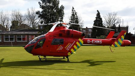 Ambulance and police were called to an incident at Woodford station this afternoon. Air ambulance la