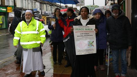 Faithful Friends marched down Green Street to promote religious harmony in Newham