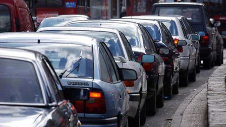 Congestion builds up in London. Picture: PA/Press Association Images