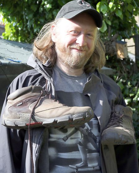 John is a fan of walking and is sometimes joined by famous chum Russell Brand