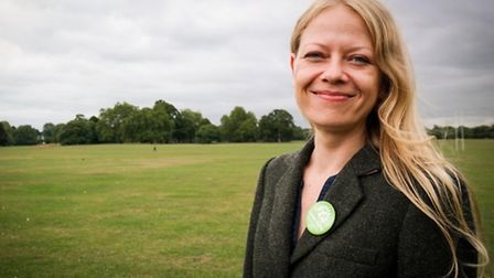 Green Party's London mayoral candidate Sian Berry