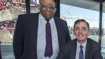 Deputy mayor Lester Hudson, left, who has rejected claims he does not take Gypsy and Traveller needs