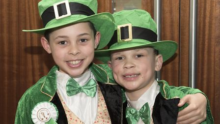 St Patrick's lunch at Rouge Restaurant, Redbridge College. Pictures: Maurice Haskew