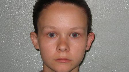 Emma Hall, sentenced to life for the murder of Luke Harwood, with a 17 year minimum. Photo: Met Poli