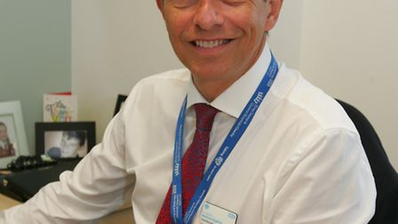 Matthew Hopkins, chief executive of Queens and King George hospitals