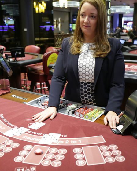 Manager Bea Stevens at Aspers casino in Stratford
