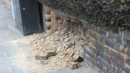 Residents have spoken of a spate of brick thefts in Goodmayes. Picture: Ajay Nair