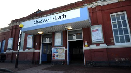 A man was found dead at Chadwell Heath Station last night after being hit by a train