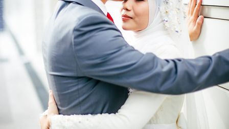A Muslim couple on their wedding day. Picture: Azlan DuPree/Flickr