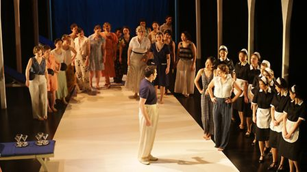 A dress rehearsal for La Favorite at Theatre Royal Stratford East