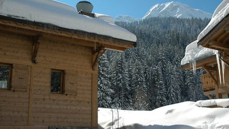 The resort of Morzine sits at 1,000m while Avoriaz is higher up at 1,800m
