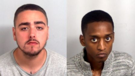 Daniel Edmondson, 23, of Copperfield, Chigwell, and Kyiese Waithe, 22, of Queens Road West, Plaistow