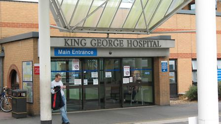 King George Hospital in Goodmayes is one of the two hospitals BHRUT is responsible for.