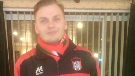 Clapton fan Josh Millar was Tons assistant for the Bowers & Pitsea clash