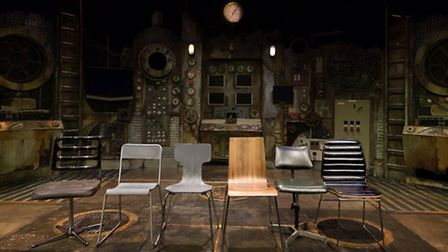 The new production of The Chairs, adapted by Extant, features an experimental set. Picture by Lily O