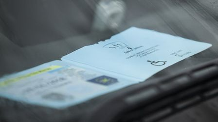 Three men have been found guilty of misusing blue badges