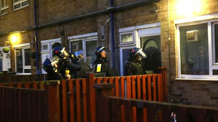 Police targetted 18 locations across Manor Park