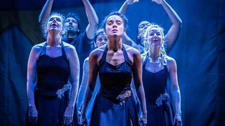 Dance Nation at the Almeida Theatre, London. Photo: Marc Brenner.