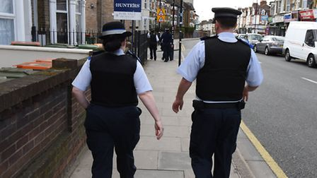 Police conducted a drug raid on addresses relating to Plashet Road today