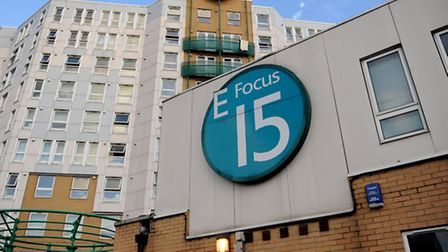 Stratford's Brimstone House, known as the Focus E15 Hostel, which has been bought by Newham Council