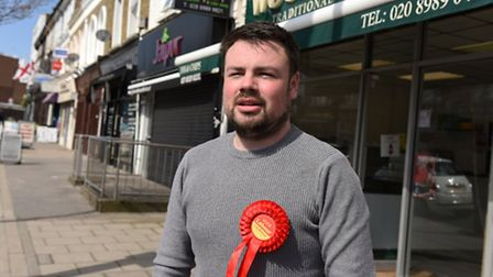 Lloyd Duddridge who is the Labour candidate for the Roding by-election