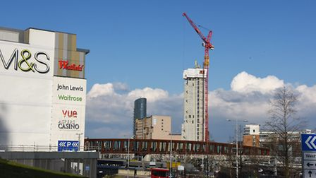 The Stratford skyline is awash with new building developments surrounding the town centre and the Ol