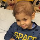 Tommy Simpson, 4, who has leukaemia