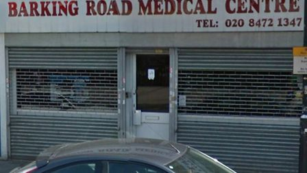 """The Barking Road Medical Centre, which has been deemed """"inadequate"""" by the CQC Picture: G"""