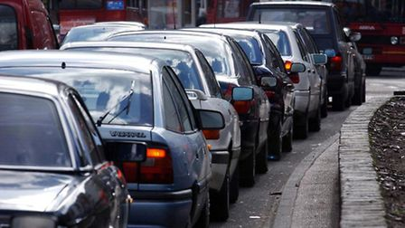 Delays on the A406