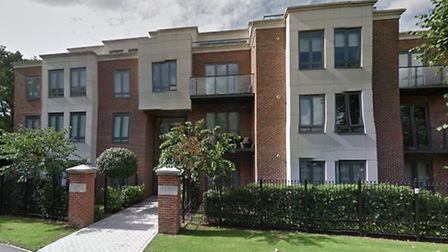 The luxury Eton Heights aparment block, in Woodford Green, where a 39-year-old man was stabbed in th