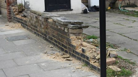 Brick have also been reported stolen in Goodmayes (Pic: Ajay Nair)