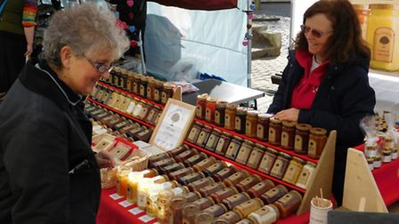 An international street market touring the UK made its way to Romford today. Photo: Natalie Lanyon/S