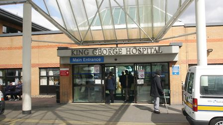 King George Hospital in Ilford