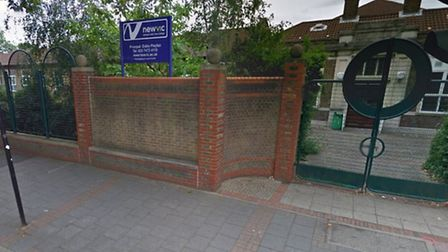 NewVIc college was closed becuase of a hoax bomb threat yesterday. Picture: Google street view