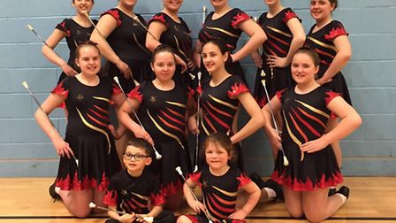 The Blaze of Upminster returned triumphant of the majorette's national championship having picked up